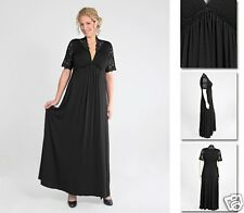 NEW Zaftique MORIAH LACE GOWN Dress BLACK 1Z 2Z 3Z / 16 20 24 / XL 1X 2X 3X