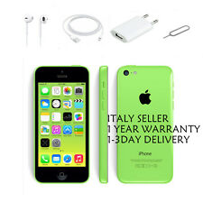 APPLE IPHONE 5C 16 GB GREEN NUOVA GARANZIA ORIGINALE SIGILLATO ITALIA