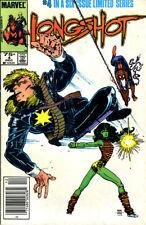 LONGSHOT #4 VG/FN 1985 Arthur Adams W.Portacio MARVEL COMICS *ShipFree w/$35 Com
