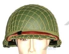 WWII MILITARIA U.S M1 USMC STEEL HELMET NETTING COVER