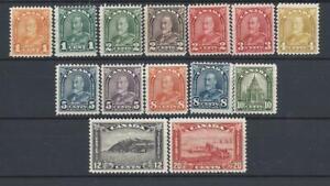 CANADA (1930-1931 KG-V Sc#162-175 Landscape) MNH/MLH VF Cat.Val. $185.00