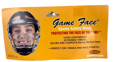 Game Face Sports Safety Mask New In Package Bin7