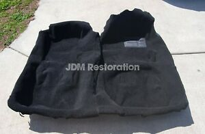 Jza80 RHD Toyota Supra Black Carpet 93-02 2jz 1jz Trd Sz Szr Rzs Gz Rz Recaro