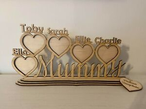 Personalised custom made picture frame holder