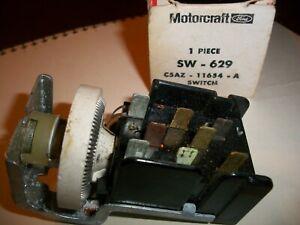 MOTORCRAFT FAIRLANE GALAXIE TORINO SW-629 Headlight Switch C5AZ-11654-A NOS