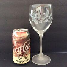 ~Dutch Auction~(x763) Four (4) Avon Hummingbird crystal Goblets