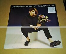CHRISTINE AND THE QUEENS - CHALEUR HUMAINE - LP VINYL BLEU + CD - NEUF / SCELLE