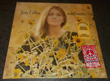 JUDY COLLINS-WILDFLOWERS-2017 50th ANNIVERSARY ED. YELLOW VINYL LP-NEW & SEALED