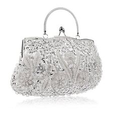 Women Evening Clutch Bag crystal Wedding Purse Prom Handbag Shoulder Bag