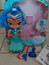 Fisher-Price Nickelodeon Shimmer & Shine doll w accessories-works