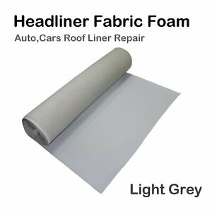 Headliner Fabric Good Inexpensive Repair/Fix for Car Roof Re-upholstery 2M x1.5M