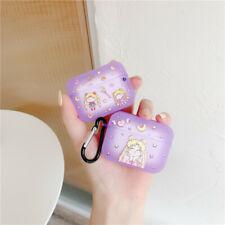 Cute cartoon Sailor Moon girl soft Earphone bag Cover for Apple Airpods Pro Case