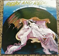 "VINYL LP / RELAX AND REDUCE ""TO NEW BEAUTY AND BETTER HEALTH"" / 1960"