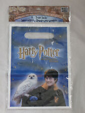 8 Harry Potter  and the Sorcerer's Stone Treat Sacks Party Favor Bags 1FBG2184,