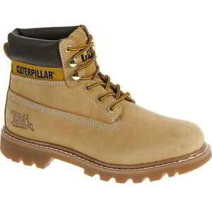 Caterpillar Colorado Mens Cat Honey Wide Fit Leather Ankle Boots Size 8-13