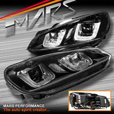 R20 STYLE 3D LED BAR DRL PROJECTOR HEAD LIGHTS FOR VOLKSWAGEN VW GOLF VI MK-6