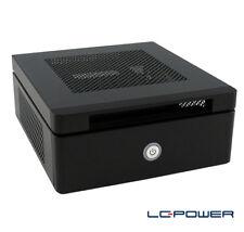 LC-Power - Mini-ITX-Gehäuse LC-1530mi - sehr kompakt - inkl. VESA-Halterung