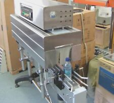 BSS-1538C TOP OF BOTTLE THERMAL SHRINK TUNNEL FOR A TAMPER PROOF LABEL FILM SEAL