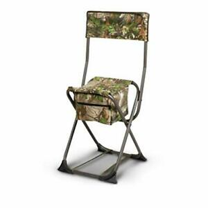 Hunters Specialties 100152 Dove Chair W/Back - Realtree Edge