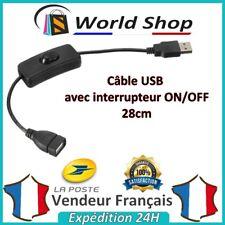 Câble USB 2.0 HUB pc ON / OFF ON/OFF interrupteur cable usb