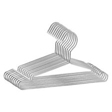 10Pcs/Set Clothes Hangers Stainless Steel Coat Hanger Suit Hanging Hook Non-Slip