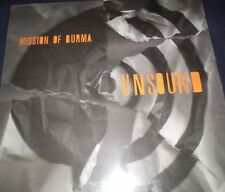 "MISSION OF BURMA RECORD TITLED ""UNSOUND"" NEW! SHRINK RARE 2012 L@@K! LEGENDS!!"