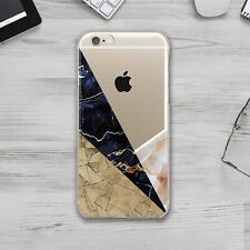 Geometry Wood Marble iPhone 11 SE2 Silicone Cover Case iPhone 6s 7 Plus X XS XR