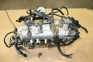 JDM Mitsubishi Evolution 4G63T Evo7 Intake Manifold, Injectors Throttle Body