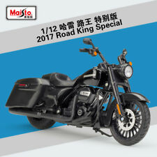 Maisto 1:12 Harley Davidson 2017 Road King Special Motorcycle Model
