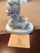 """New ListingPrecious Moments Figurines """"A Friend Is Someone Who Cares�"""