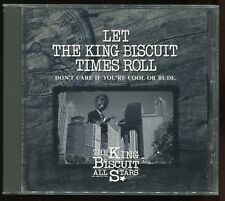 King Biscuit All Stars - Let The King Biscuit Times Roll JAPAN CD 1996 J-Blues
