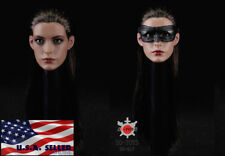 1/6 Anne Hathaway Catwoman Head Sculpt And Mask For PHICEN Female Figure ❶USA❶