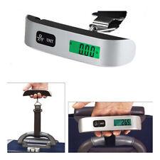 Bascula Pesa Maletas Equipaje de Mano 50kg Digital LCD Pilas Incluidas Balanza