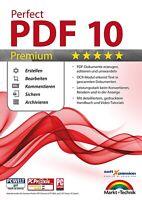 Perfect PDF 10 Premium - inkl. OCR Modul - PDFs Erstellen, Bearbeiten,Umwandeln
