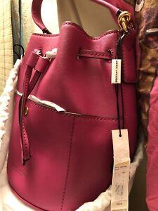 Marc Jacobs NWT Saffiano MINI bucket bag
