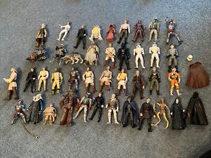 Joblot Bundle Star Wars Figures Hasbro Kenner Power Of The Force Stormtrooper