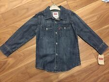 boys Levi's Denim Shirt Age 5-6 BNWT