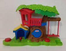 Fisher-Price 2012 Little People Swing & Share Treehouse-Works Great