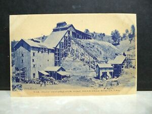 1905 Paso Robles CA Klau Quicksilver Mine Postcard