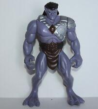 "1995 BVTV 6"" purple gargoyle action figure / vintage Kenner toy"