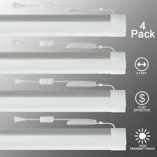4 Pack LED Batten Light Residential Lighting Ceiling Light 4 Feet 36W 6500k