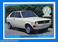SUPER AUTO - Panini 1977 -Figurina-Sticker n. 185 - VOLKSWAGEN POLO -Rec