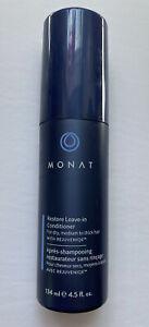 Monat Restore Leave-In Conditioner w/ Rejuveniqe 4.5 oz - New For Dry Hair