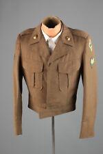 Vtg Men's 1952 Korean War US 4th Army Ike Jacket sz 36 L 50s Uniform #4569
