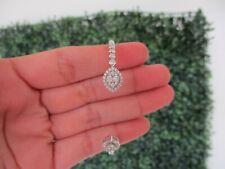 .97 CTW Diamond Bracelet 18K White Gold B67 sep