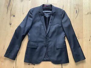 BOSS HUGO klassischer Anzug  Gr. 50 , 100% Schurwolle Super 100 Wie Neu !