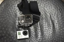 GoPro HERO3 White (Silver Edition) with waterproof case, micro SD, HEAD MOUNT