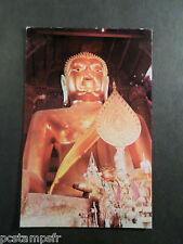 CP CARTE POSTALE ASIE, LARGE BUDHA THAILAND, AYUDHYA POSTAL CARD ASIA