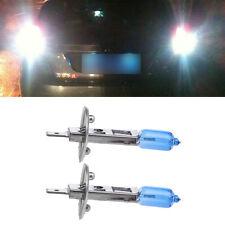 1Pair Car Headlight H1 Lamp Super White Car Halogen Bulb 100W Fog Light DC 12V