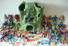 He-Man MOTU Masters of the Universe Figure, Castle Grayskull & Accessories Lot